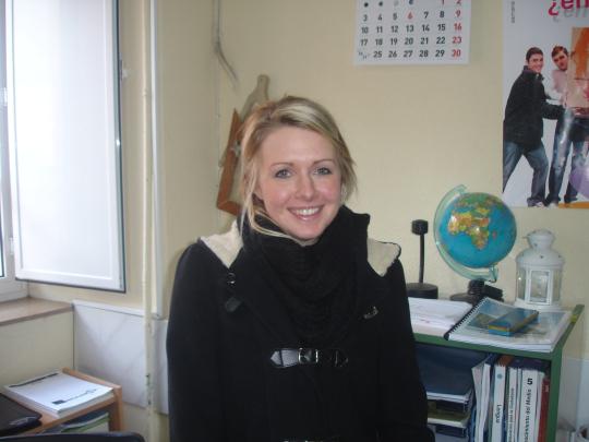 Una nueva profesora en clase: Emma
