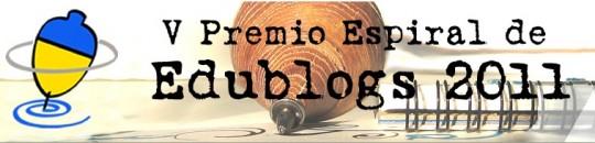 Somos finalistas de los premios Espiral Edublogs