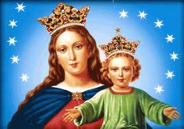 Calendario de fiestas de la Virgen