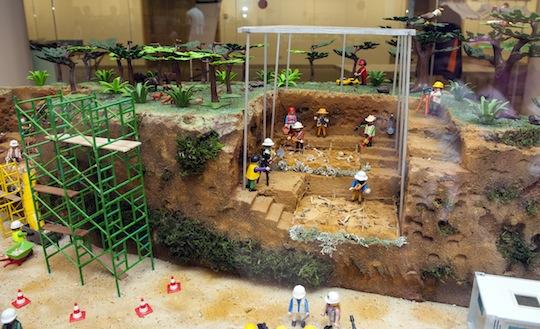 Hoy estamos de excavación