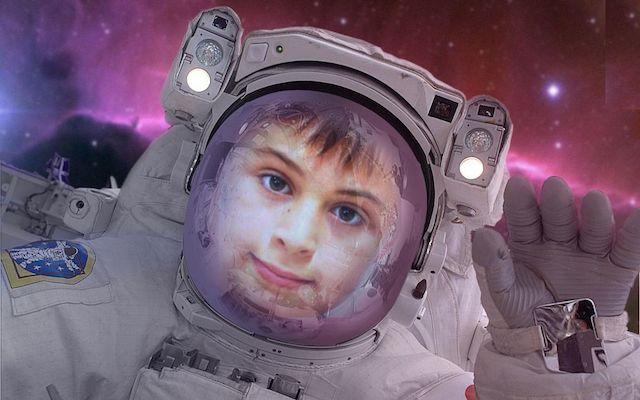 Ya somos astronautas