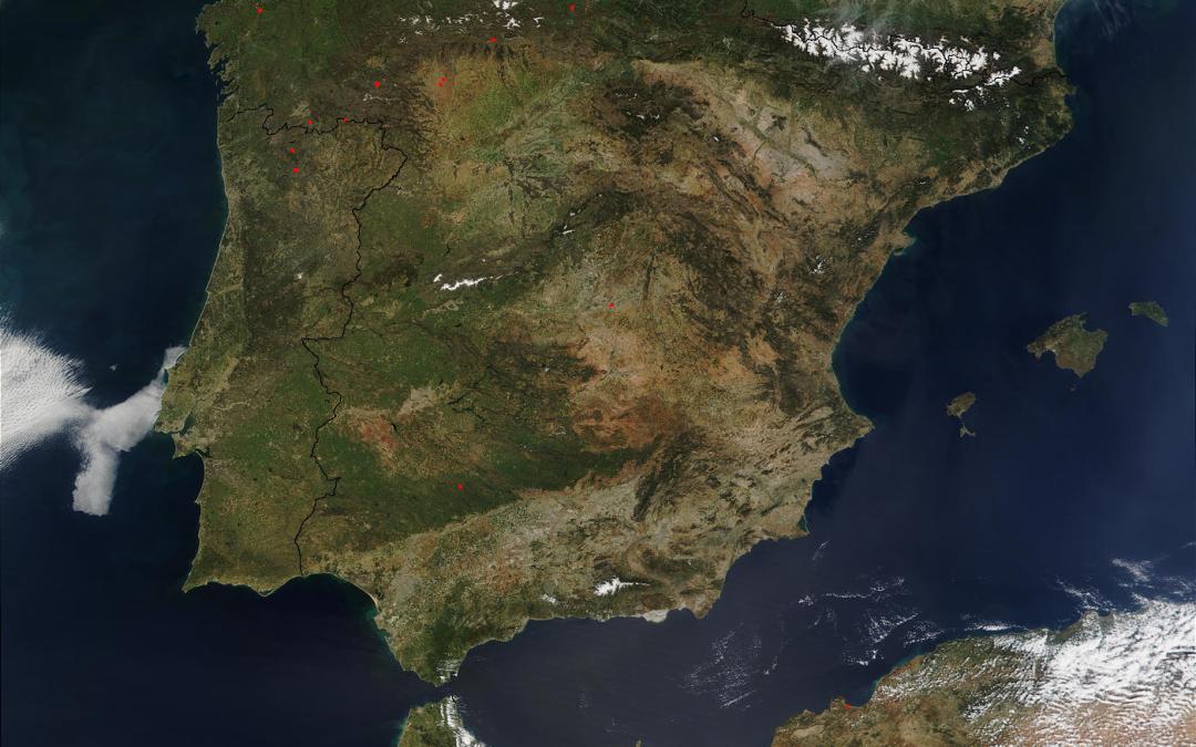 Recursos para estudiar Geografía Física de España