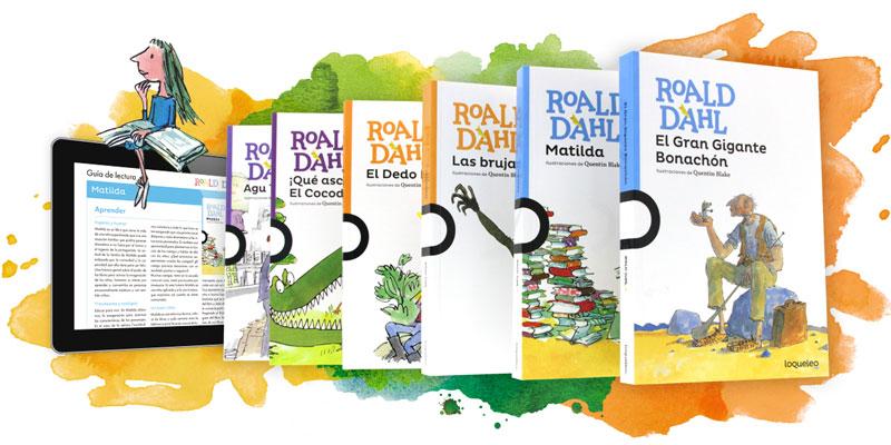 Los libros de Roald Dahl
