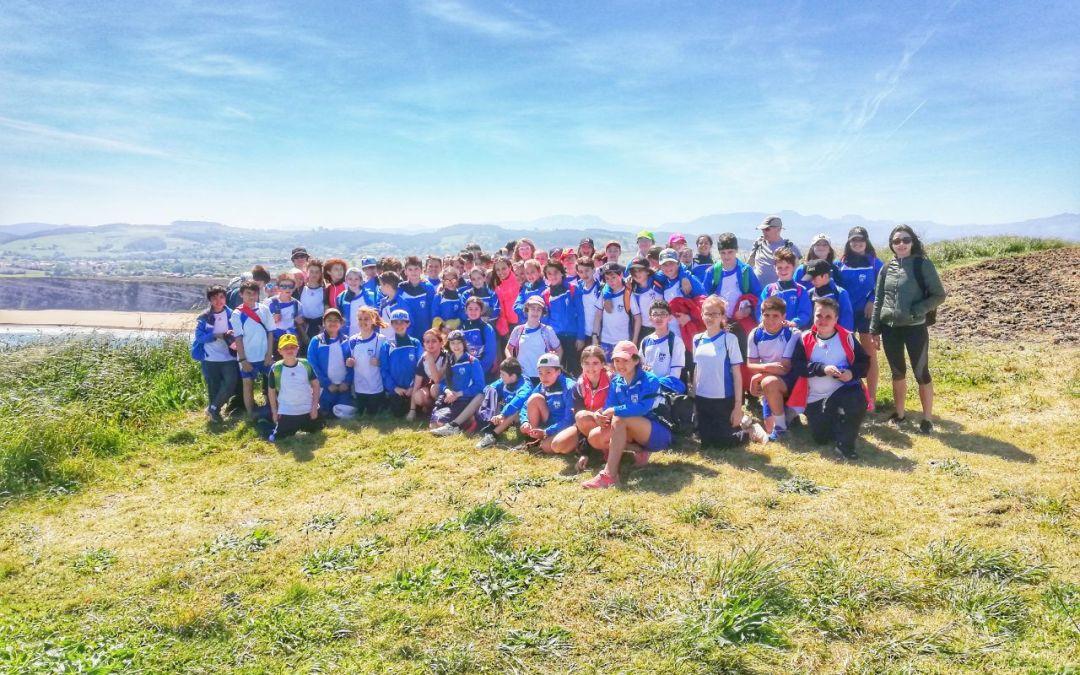 Excursión de Somo a Galizano