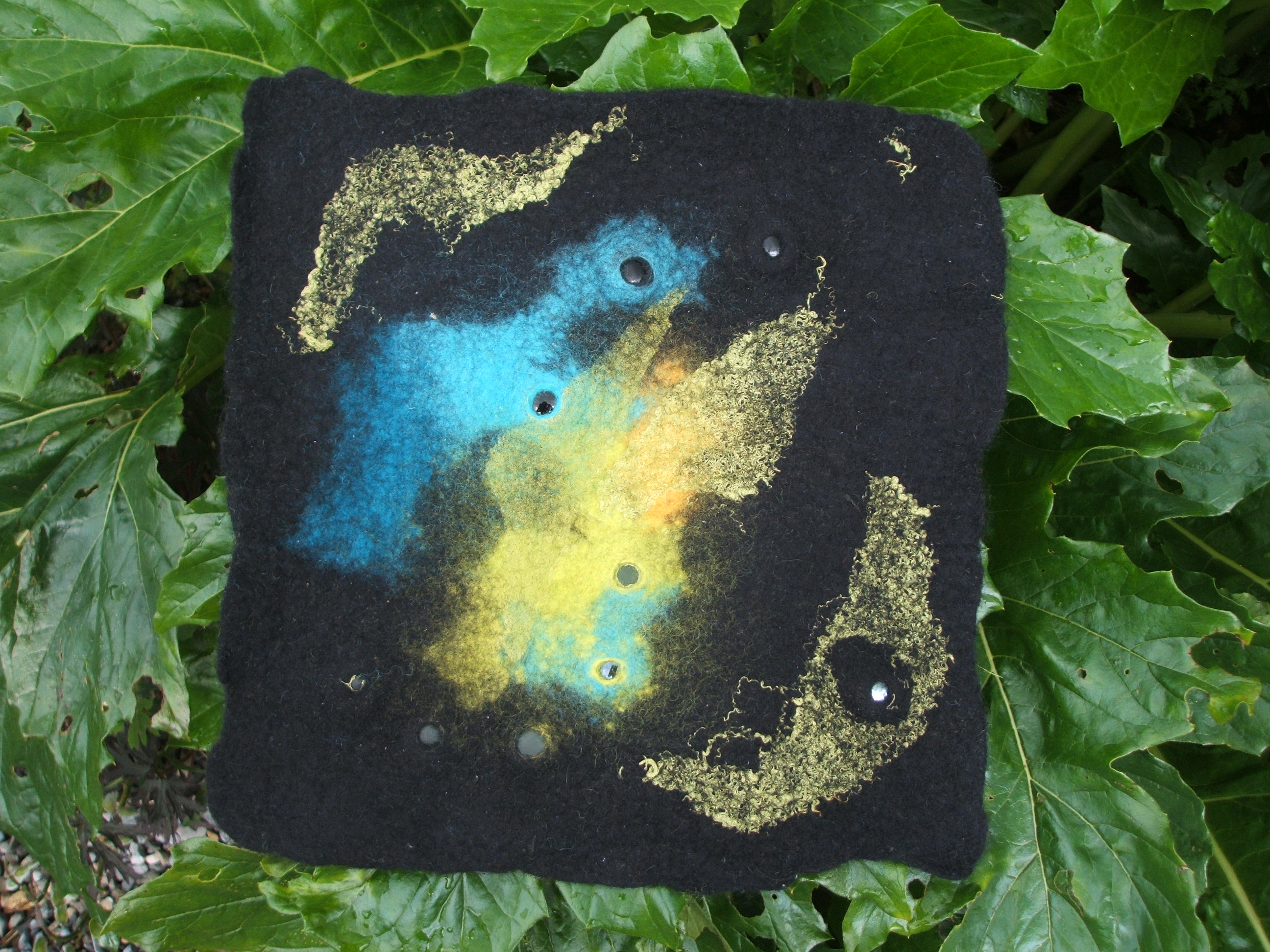My first felt sample