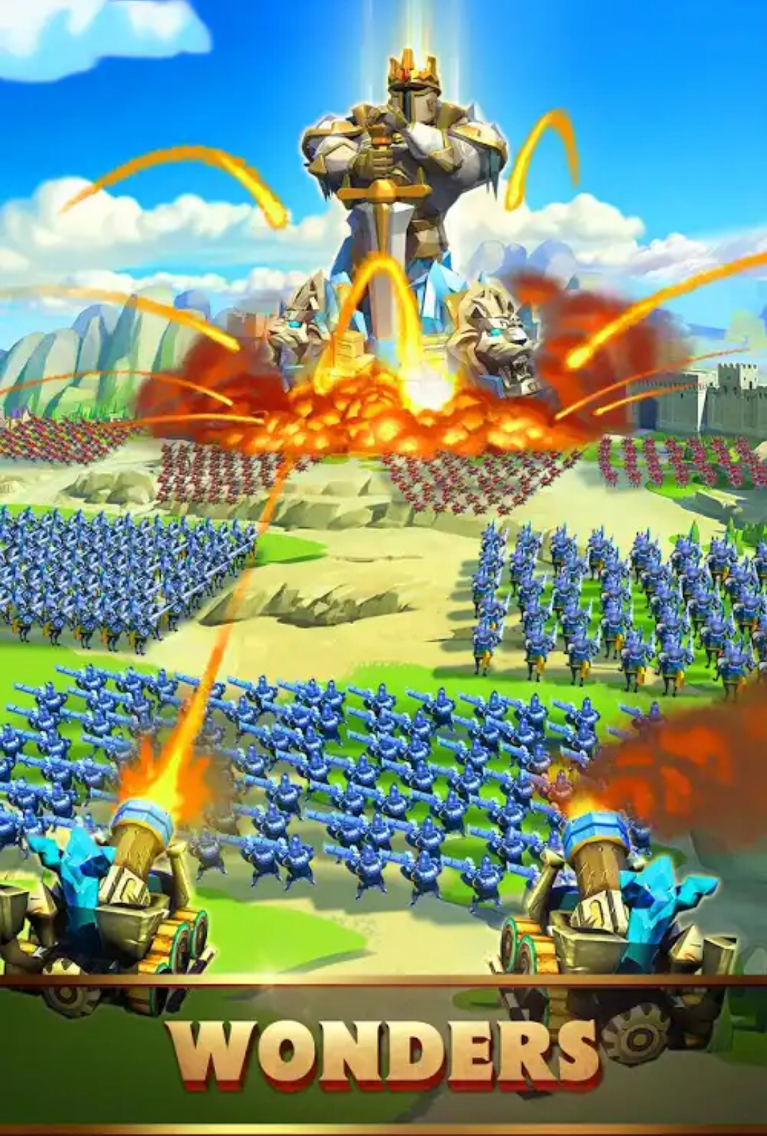 Lords Mobile On PС Download Game With Bluestacks