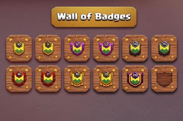 coc oct upd wars clan perks 01 - Sneak Peek: miglioramenti social, utenti online e nuovi badge clan!