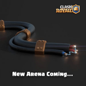Clash Royale New Arena