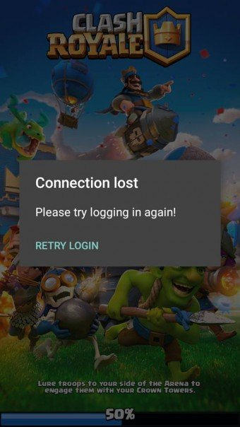 Clash Royale Private Servers v 2.1.5 Error