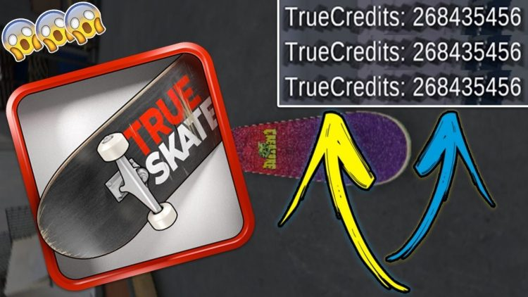Image result for true skate mod apk""