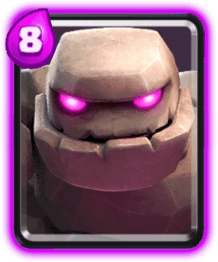 Carta Golem Clash Royale
