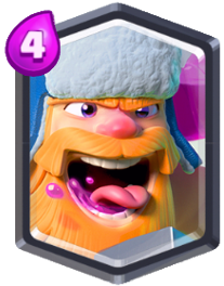 Carta Leñador Clash Royale