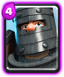 Carta Principe oscuro Clash Royale