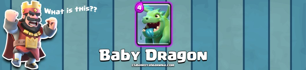 Baby Dragon Clash Royale