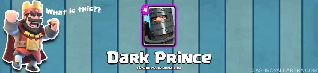Clash Royale Dark Prince