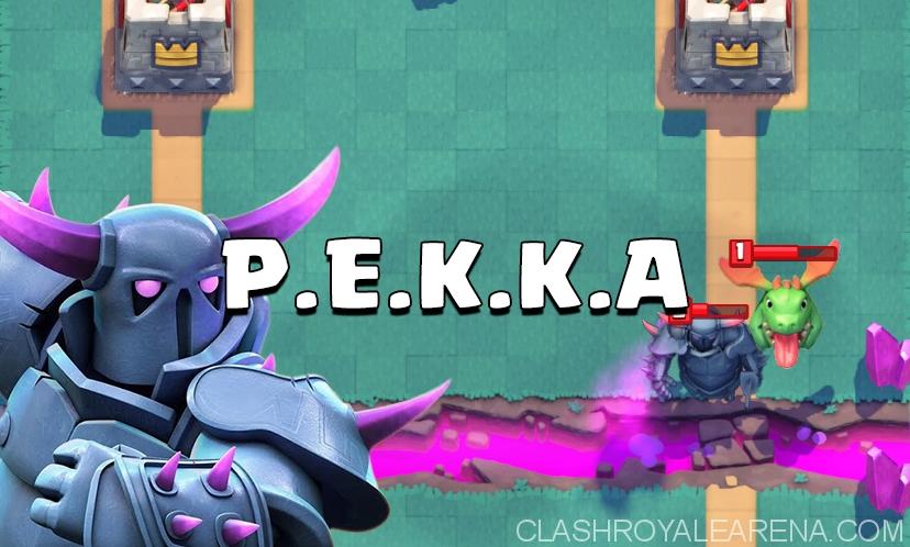Clash Royale Arena 5 Deck - Lightning P.E.K.K.A