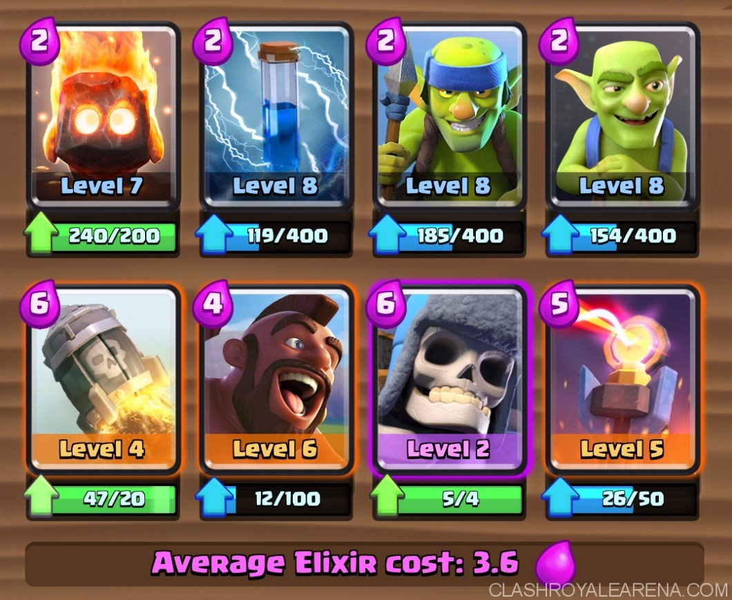 Hog Rider Rocket Deck