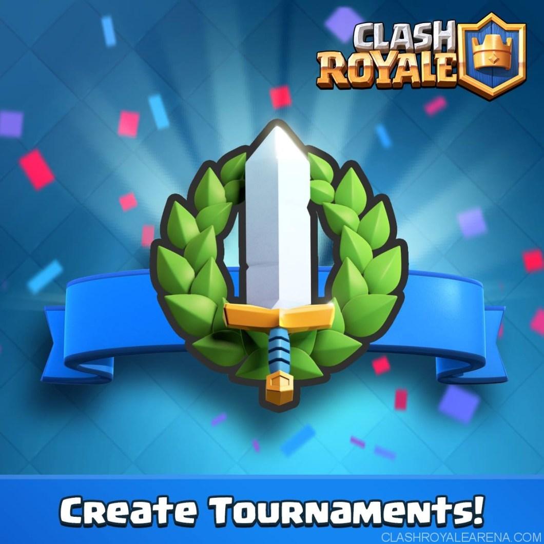 Clash Royale New Tournaments Feature