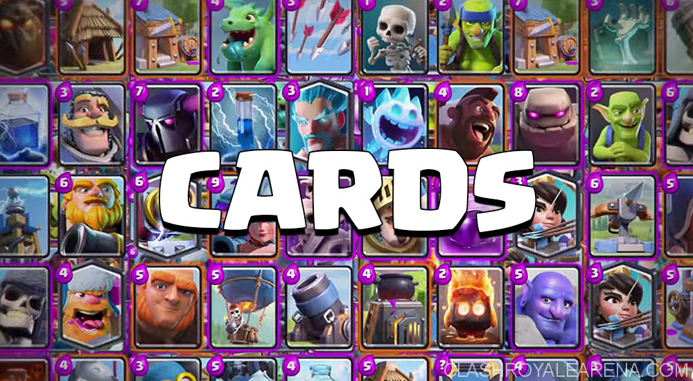 All Clash Royale Cards List