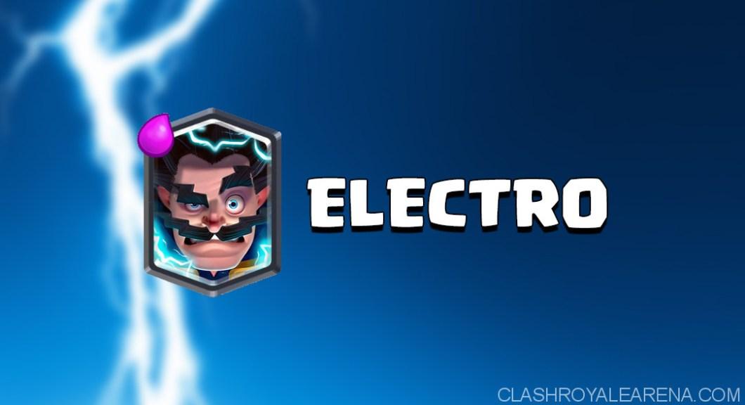 Clash Royale Electro Wizard