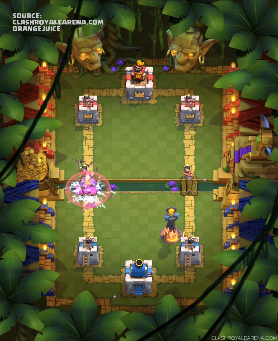 Clash Royale Jungle Arena