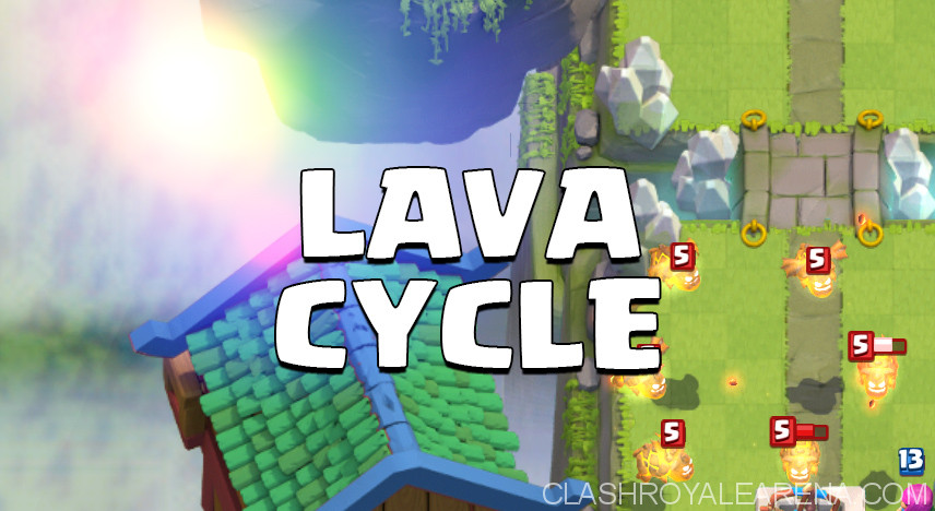 Lava Hound Cycle Deck