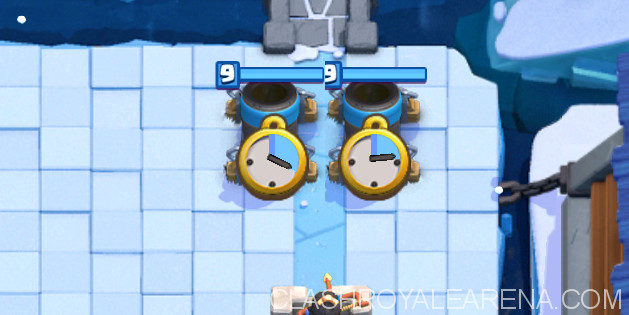 Mortar placements