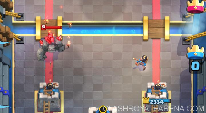princess defending on the opposite lane