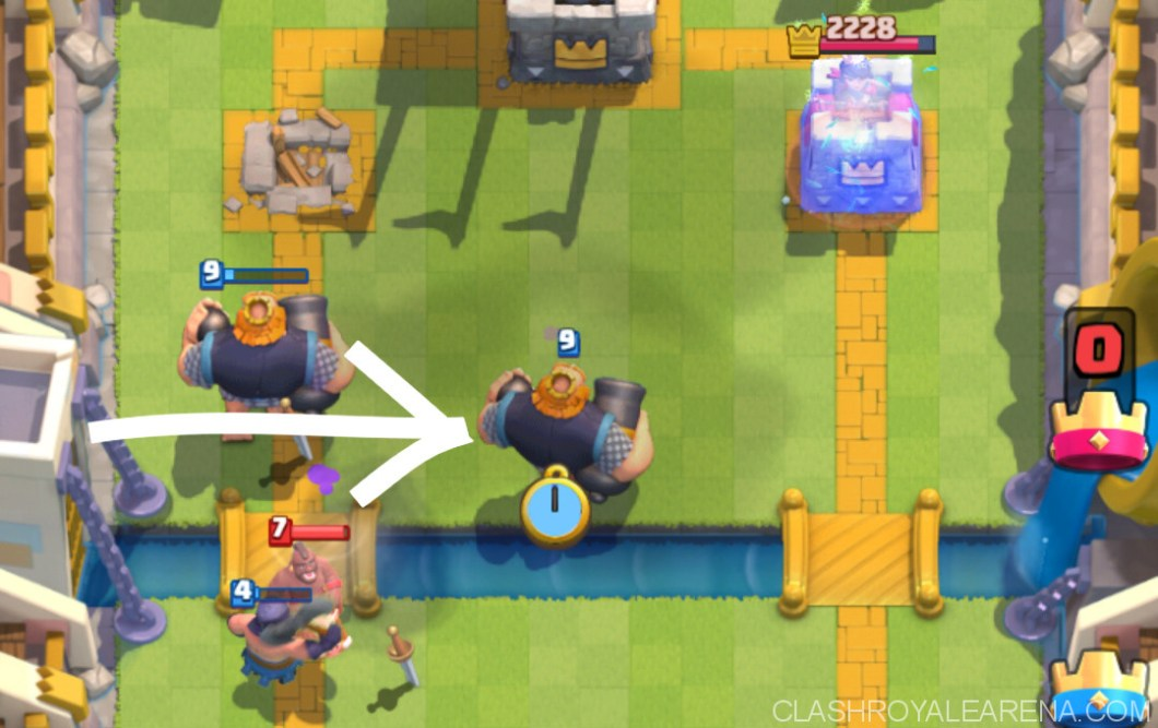 royal giant 1 tower up