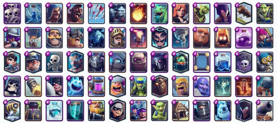 best clash royale cards