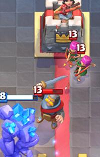 knight vs golem