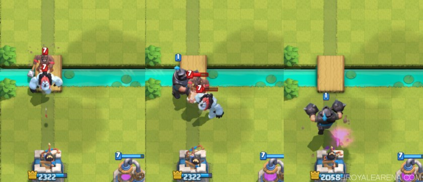 mega knight vs hog