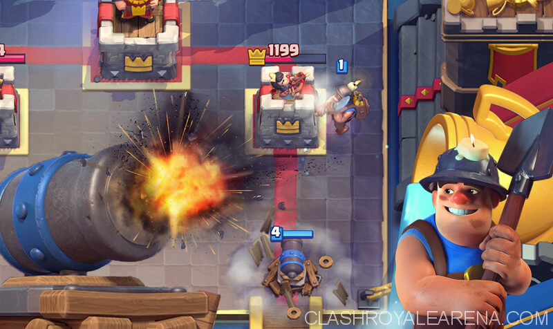 miner cannon cart