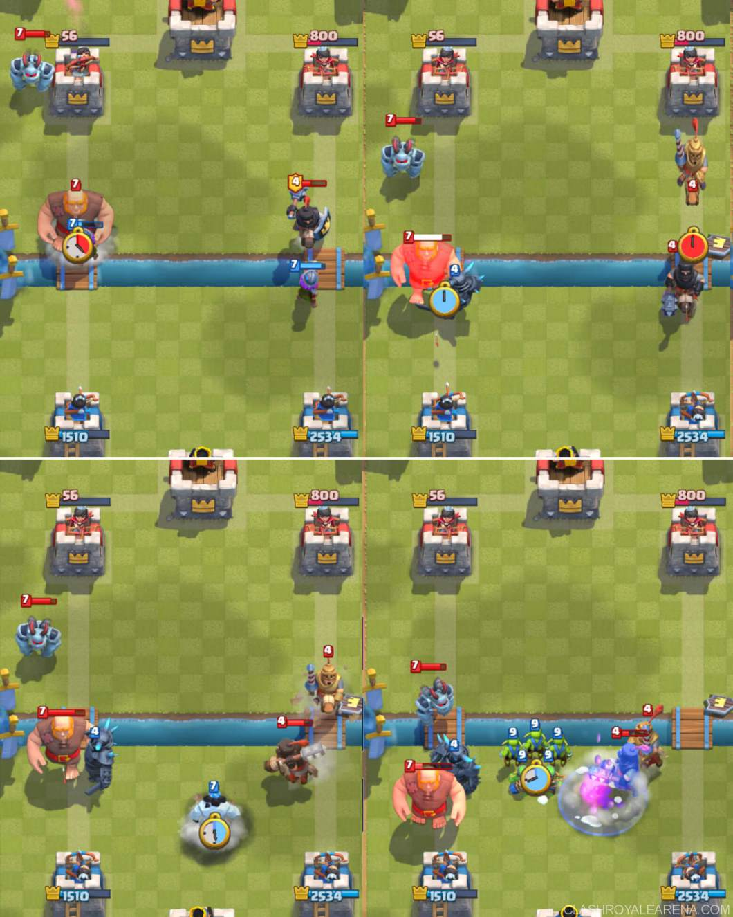 vs giant beatdown