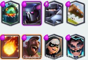 Clash Royale- Hog Bandit Deck