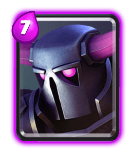 PEKKA card-Clash-Royale-Kingdom