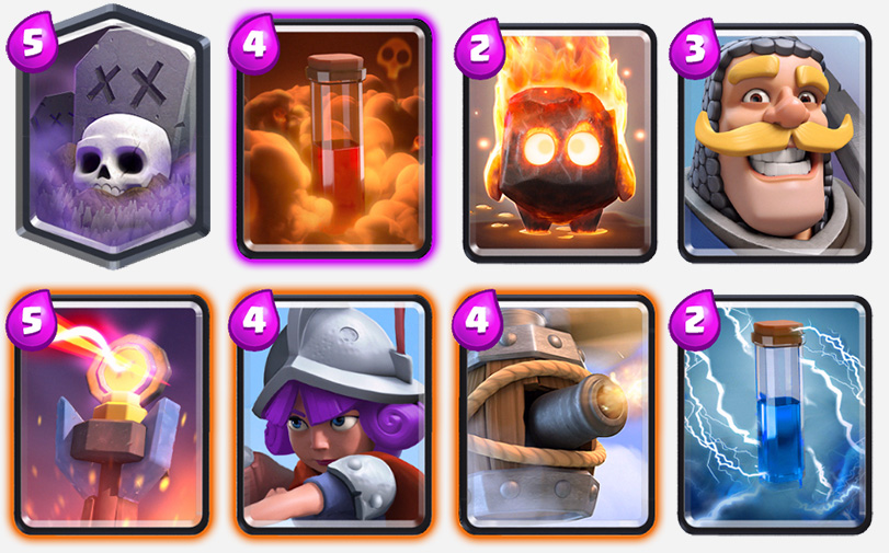 The-Poisonous-Yard-Deck-clash-royale-kingdom