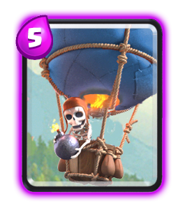 balloon-building targeting card clash royale