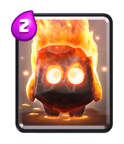fire spirits-card-Clash-royale-kingdom