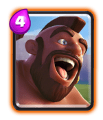 hog rider-building targeting card clash royale