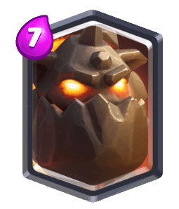 Lava Hound-building targeting Card Clash Royale-Kingdom