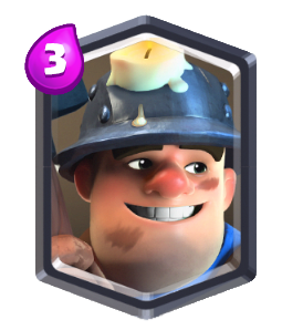 Miner Card-Clash-Royale-Kingdom
