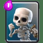 Skeletons-Card-Clash-Royale-Kingdom-common card