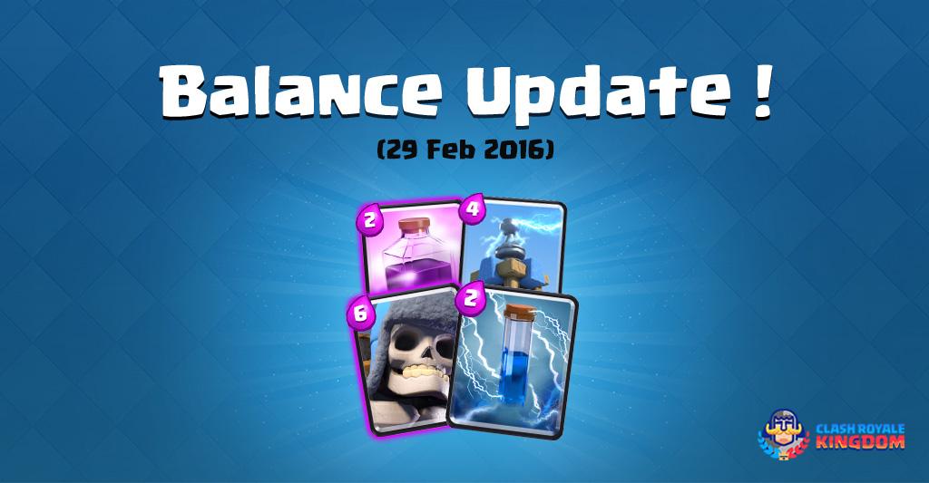 Balance-Changes-Live!-(29-Feb-2016)-Clash-Royale-Kingdom