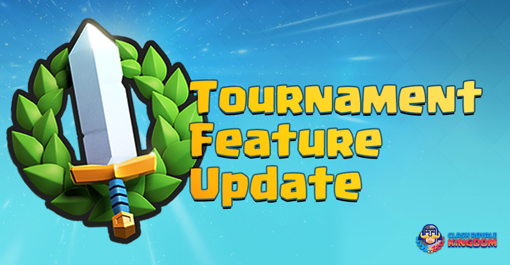 Tournaments Feature Update