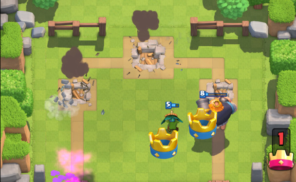 Royal-Giant-with-the-3-Wizards-screenshot-clash-royale-kingdom