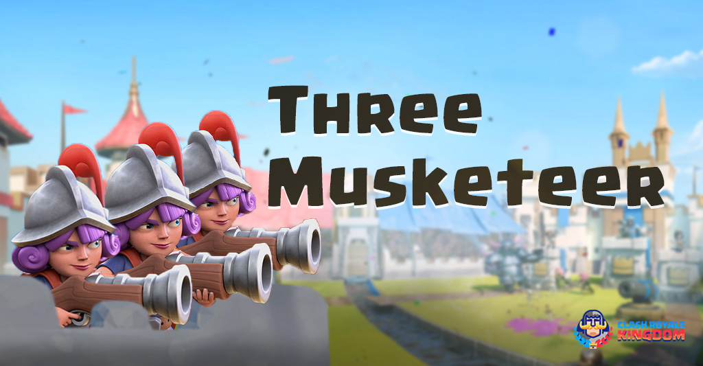 Three Musketeers – The Triple Shooting