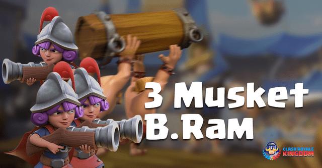 GG – Three Musketeers Ram Deck