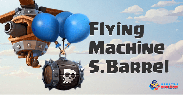 Flying Machine Clash Royale Simplest Trick