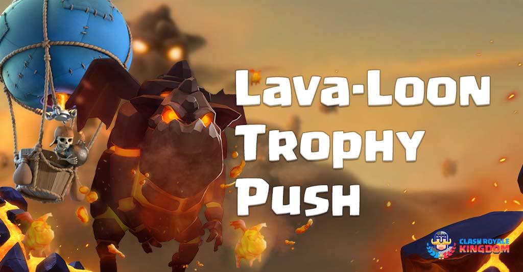 LavaLoon Deck Trophy Push